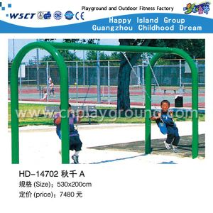 Hot Sale Swing Set with 2 Seats for Sale (HD-14702) pictures & photos
