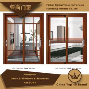 Aluminum/Aluminium Sliding Door Model Z-055~056 pictures & photos