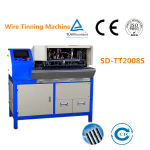 Full Automatic Wire Soldering / Tinning Machine pictures & photos
