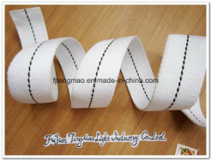 "1"" Withe Cotton Webbing pictures & photos"