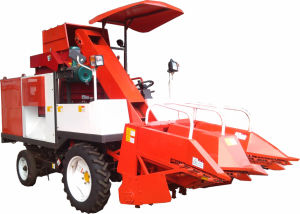 Wheel Corn Harvester (4YZP-2G) pictures & photos