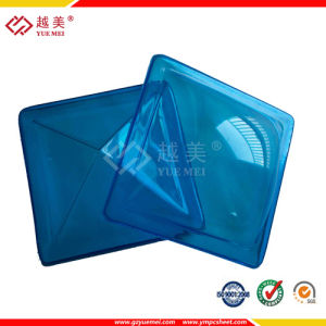 building material Yuemei PC Skylight for roofing pictures & photos