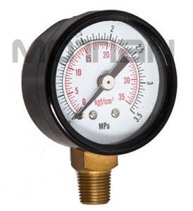 1.5 Inch Steel Case Glass Pressure Gauge with Safety Requirement