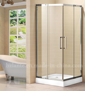 High Quality Square Stainless Steel Shower Enclosure (LTS-033) pictures & photos