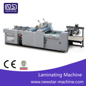 Yfma-800A Automatic BOPP Thermal Film Laminating Machine with Ce Standard pictures & photos