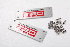 for Trd Stainless Steel Floor Mat Carpet Badge Emblem for Toyota Supra