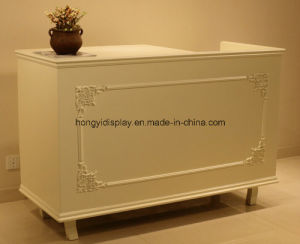 Checkout Counter for Retail Shop, Reception Desk, Cash Table pictures & photos
