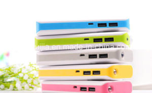 16800mAh Power Bank with LED Torch Dual USB Portable pictures & photos