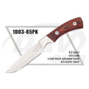 "8.5"" Overall Pakkawood Handle Dagger with Satin Blade: 1do3-85pk pictures & photos"