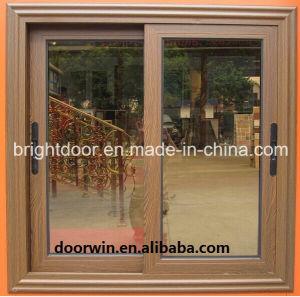 China Aluminum Framed Double Glazed Sliding Window pictures & photos
