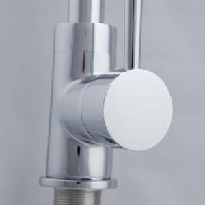 Modern Chrome Brass Put Down Mixer Tap Kitchen Brass Faucet pictures & photos