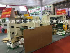Two-Head Semi-Automatic Corrugated Box Stapler for Stitching Carton Box pictures & photos