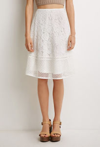 OEM Popular Lace Pattern Simple Ladies′ Fashion Skirt pictures & photos