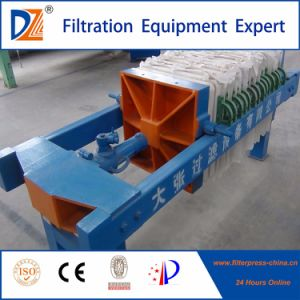 Dazhang Manual Screw Filter Press for Dewatering pictures & photos