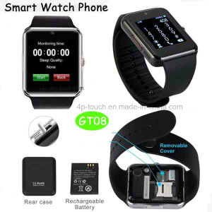 2016 New Bluetooth Smart Wirst Watch in China (GT08) pictures & photos