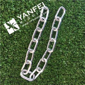 Zinc Plated DIN766 Link Chain pictures & photos
