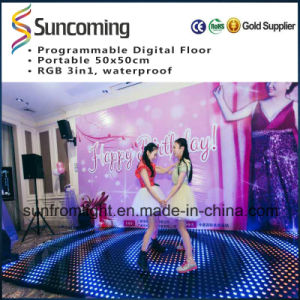 Portable Easy Install Wedding LED Dance Floor pictures & photos
