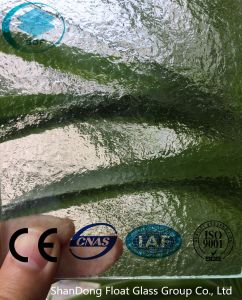 Clear Kasumi Patterned Glass with Ce, ISO (3-8mm) pictures & photos