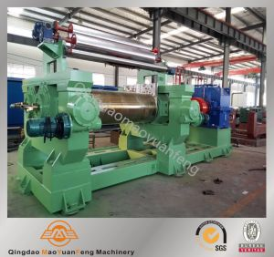Rubber Two Roll Mixing Mill/Open Mixing Mill for Rubber Sheeting pictures & photos
