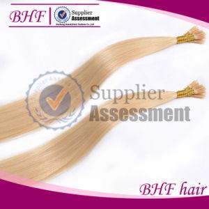 "24"" Inch Keratin U Tip Brazilian Hair 0.5 Gram Each Strand Nail Tip Fusion Human Hair Extension Pre Bonded Straight Virgin Hair pictures & photos"