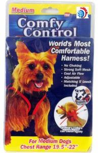 Pet Comfy Control. Comfy Control Harness. Pet Dog Adjustable Medium and Small Size No Choking Telebrands Comfy Control Dog (TV293) pictures & photos