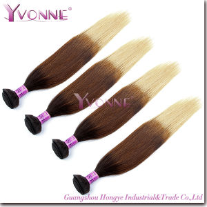 Fashion Peruvian Natural Straight Ombre Human Hair Extension pictures & photos