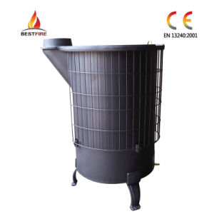 China Cylindrical Wood Burning Stove Bsr 1 China Wood