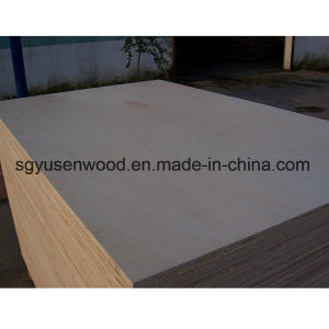 HDF Plywood, 18mm Hardwood Core Melamine Faced Plywood for Furniture Use pictures & photos