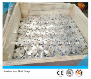 ANSI Pure Forged Stainless Steel S321 Blind Flange pictures & photos
