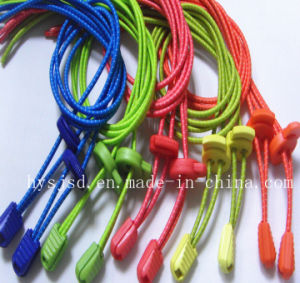 Competitive Price and High Texture No Tie Lock Shoelaces pictures & photos