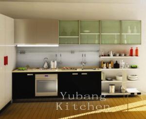 Baked Paint Kitchen Cabinet (M-L92) pictures & photos