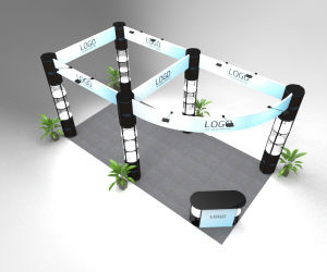 Folding Tradeshow Booth for New Style Exhibition pictures & photos