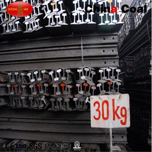 High Quality 30kg Railroad Steel Rail Price pictures & photos