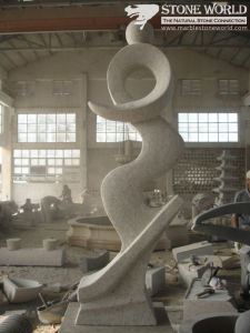 Hand Carved Granite Sculpture for Art Collection/Garden Decoration (CV003) pictures & photos