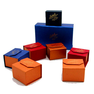 Color Fancy Paper Made Small Gift Box for Jewelry pictures & photos