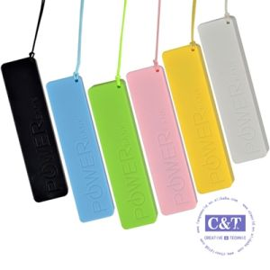 2600mAh Charger USB Portable Backup Battery Mobile Power Bank pictures & photos