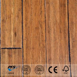 Antique Carbonized Color Strand Woven Bamboo Flooring