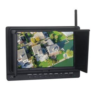 7 Inch Fpv Monitor with 5.8GHz Wireless AV Receiver pictures & photos