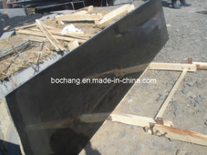 China Natural Mongolia Black Granite for Tile Slab pictures & photos