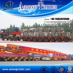 Spmt Self-Propelled Modular Trailer Heavy Equipment Transporter pictures & photos