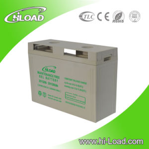 High Capacity 12V 100ah Solar Gel Battery pictures & photos