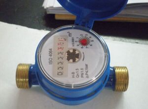 Single Jet Dry Type Vane Wheel Cold Water Meter pictures & photos