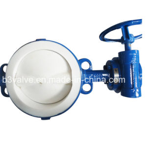 Rubber Fully Lined Butterfly Valve