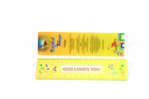 Stationery Gift Lenticular Plastic Ruler 15cm pictures & photos
