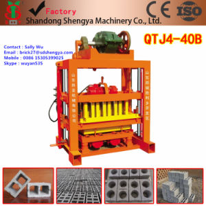 Small Concrete Brick Machine (QTJ4-40) pictures & photos