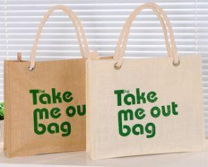 Foldable Tote Canvas Cotton Non Woven Jute Shopping Bag