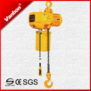 1.5t Electric Chain Hoist with Hook (WBH-01501SF) pictures & photos