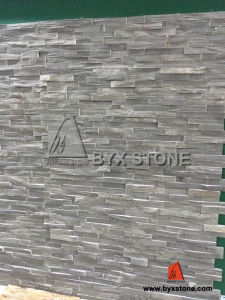 Cyan Grey Slate Culture Stone for Wall Cladding pictures & photos