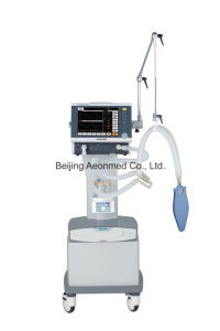 ICU Respirator Shangrila590p Touch Screen with CE pictures & photos