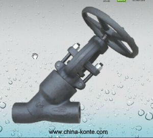 Forged Y Type Globe Valve pictures & photos